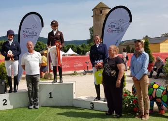 Cluny, Podium finale amateur